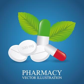 Design de farmácia verde