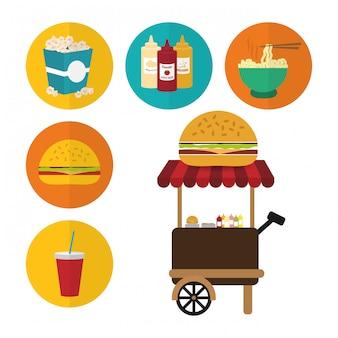 Design de fast food