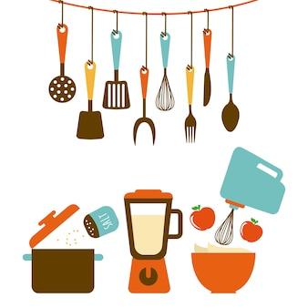 Design de ferramentas de cozinha