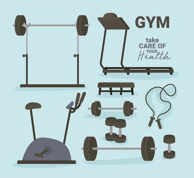 Design de ferramentas de ginásio