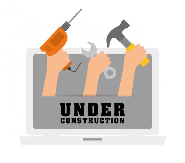 Design de ferramentas. ícone de gaiolas. objeto de decoração. conceito vintage, gráfico vetorial