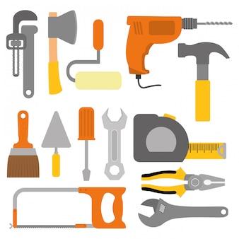 Design de ferramentas. illuistration