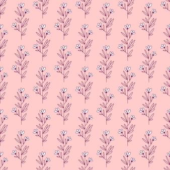 Design de flores sem costura padrão