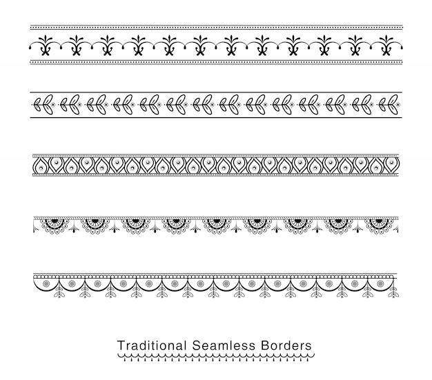 Design de fronteiras sem costura