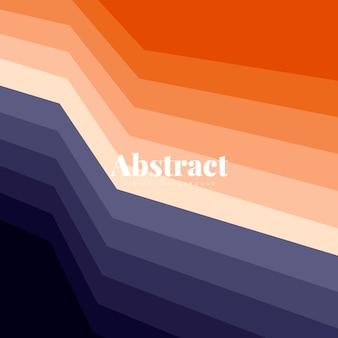 Design de fundo abstrato colorido impressão