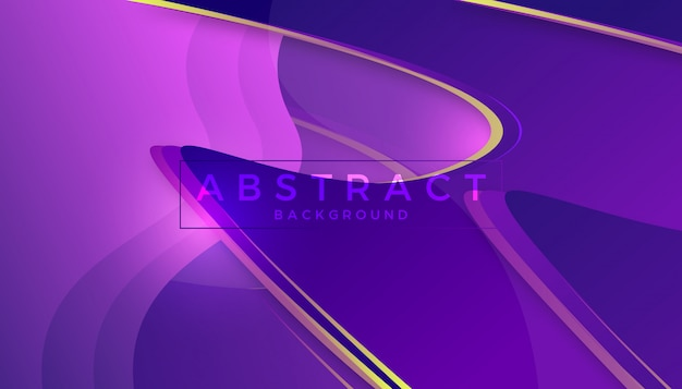 Design de fundo abstrato elegante onda