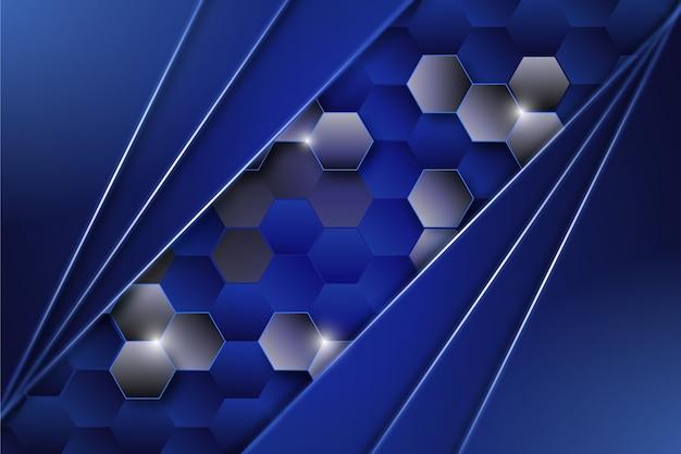 Design de fundo brilhante futurista