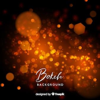 Design de fundo criativo bokeh