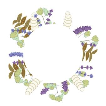 Design de fundo floral