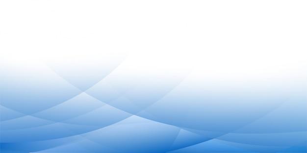 Design de fundo geométrico abstrato azul