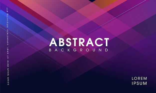 Design de fundo geométrico abstrato roxo moderno