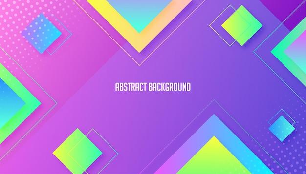 Design de fundo gradiente de azulejos digitais abstratos