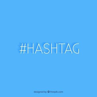 Design de fundo hashtag