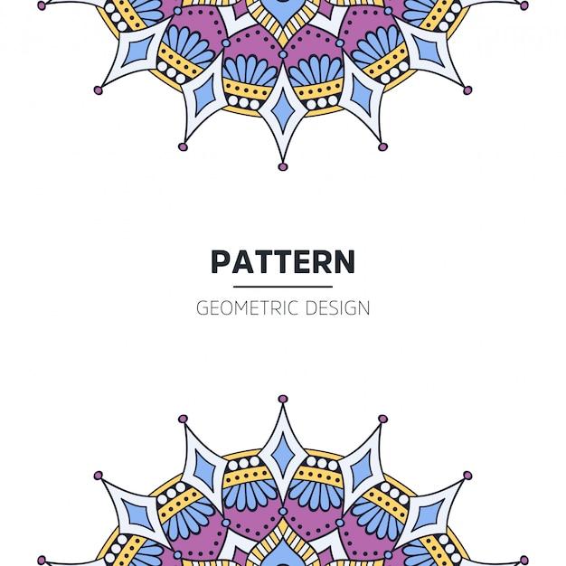 Design de fundo mandala