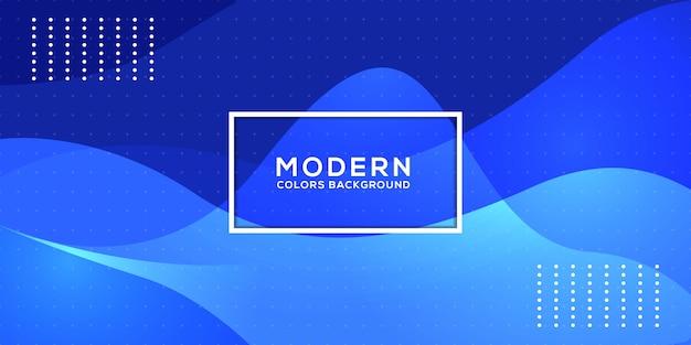 Design de fundo ondulado azul