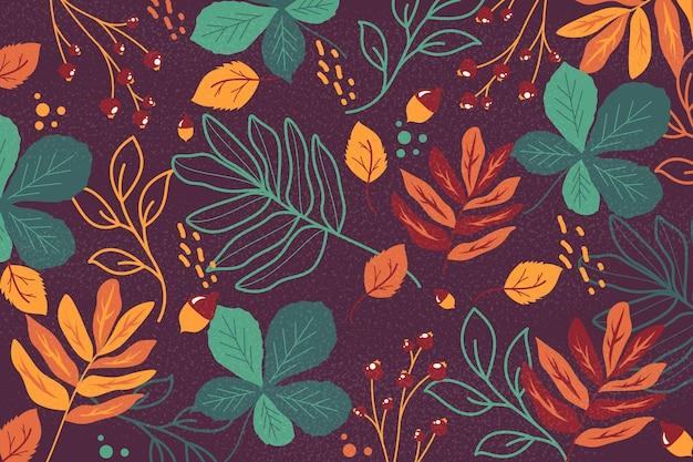 Design de fundo outono