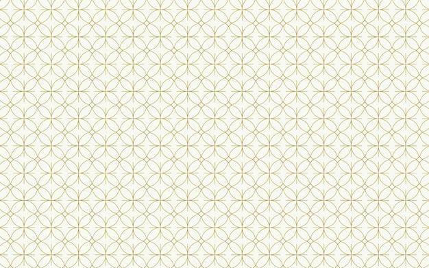 Design de fundo padrão de círculo sem emenda