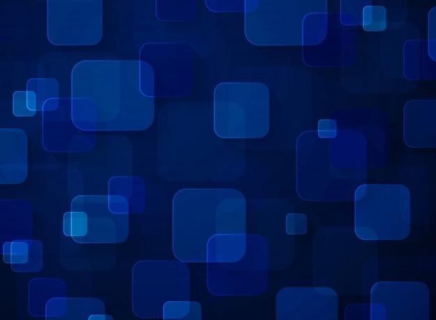 Design de fundo quadrado futurista de tecnologia