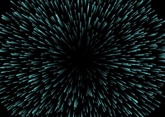 Design de fundo starburst
