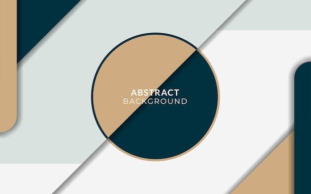 Design de fundo vetorial minimalista de luxo
