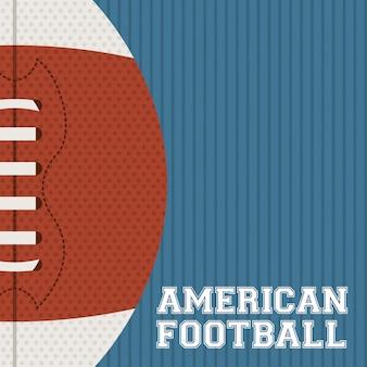 Design de futebol americano