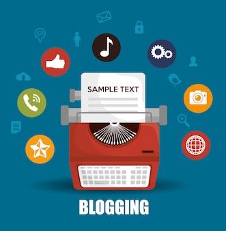 Design de gerenciamento de blog