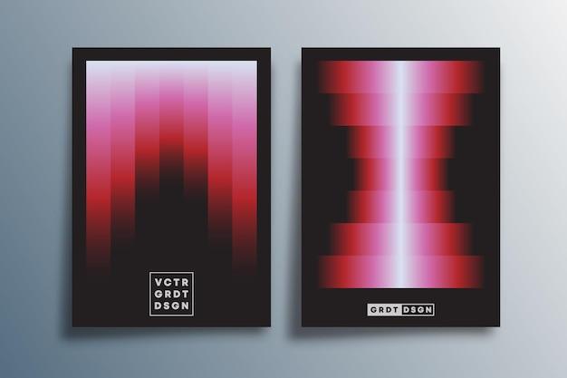 Design de gradiente mínimo para cartaz, folheto, capa de brochura, modelo de apresentação, tipografia ou outros produtos de impressão. ilustração vetorial.