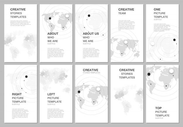 Design de histórias de redes sociais