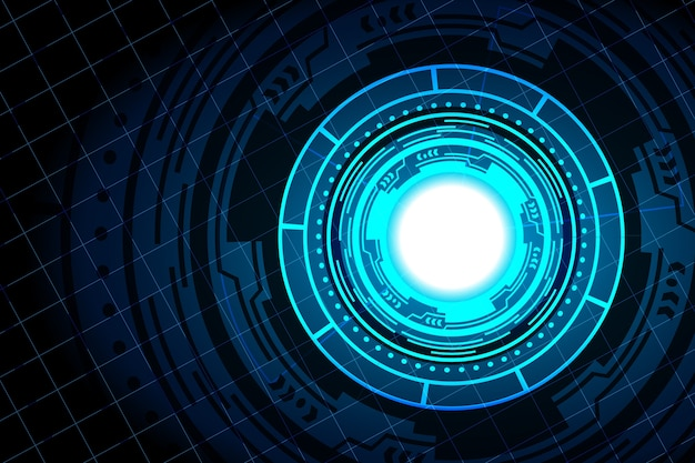 Design de hub de interface de tecnologia