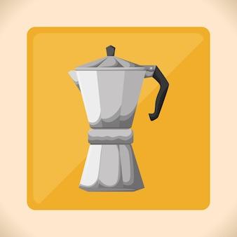 Design de ícone de café