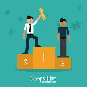 Design de ícones competitivos