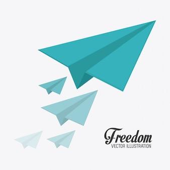 Design de ícones da liberdade