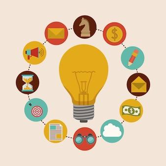 Design de ícones da solução