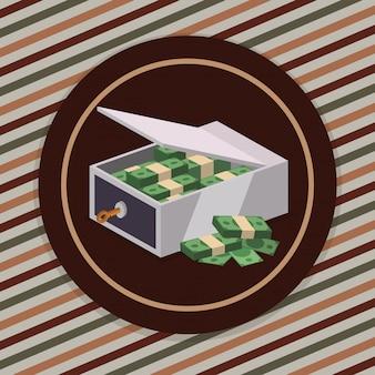 Design de ícones de dinheiro