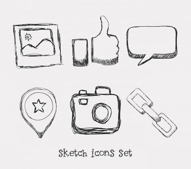 Design de ícones de gerente