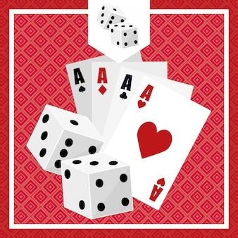 Design de ícones do casino