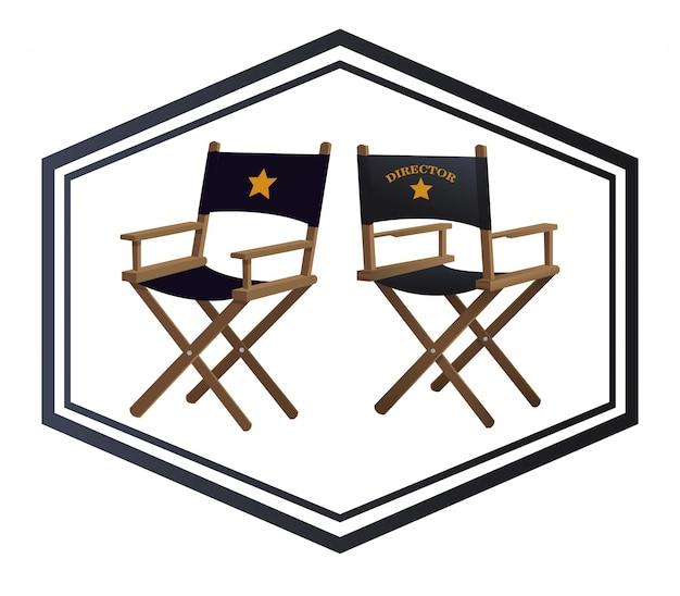 Design de ícones do cinema
