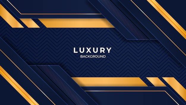 Design de iluminação de luxo moderno em ouro