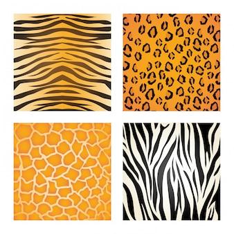 Design de impressão animal.