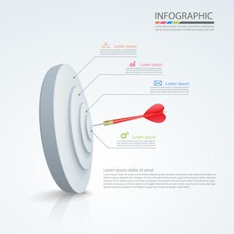 Design de infográfico de negócios