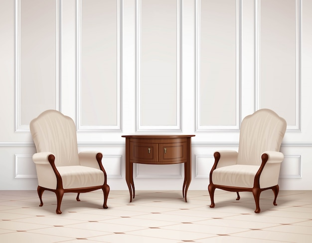 Design de interiores clássico