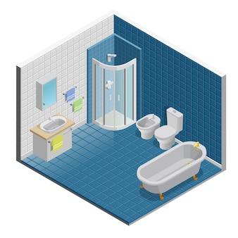Design de interiores de casa de banho