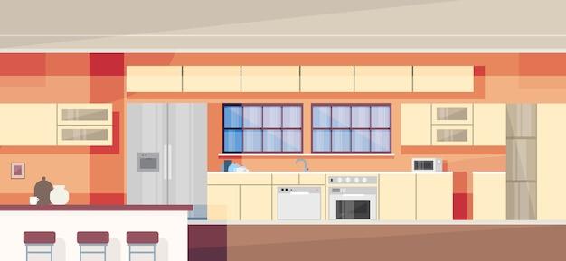 Design de interiores de cozinha moderna