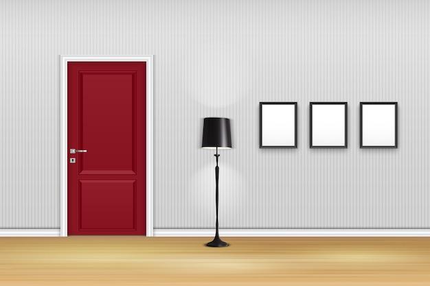 Design de interiores de sala de estar