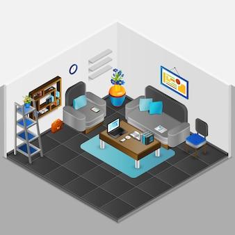 Design de interiores de sala