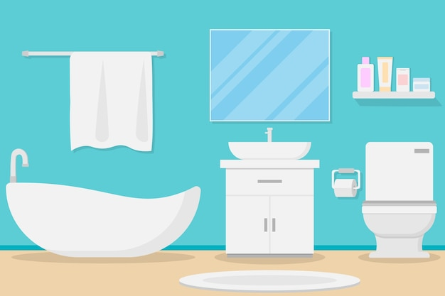 Design de interiores moderno banheiro