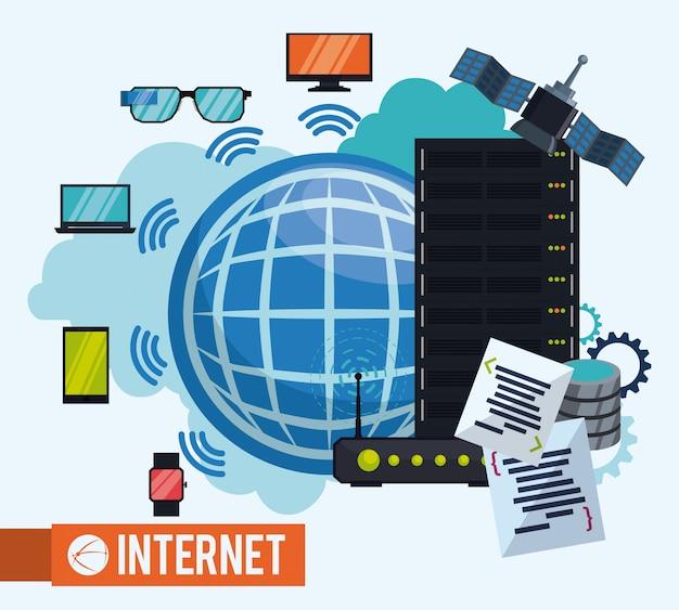 Design de internet.
