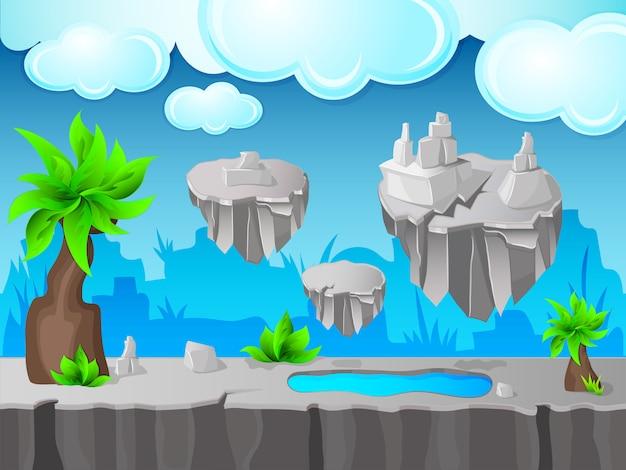 Design de jogos de terra cinza