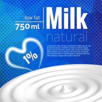 Design de leite