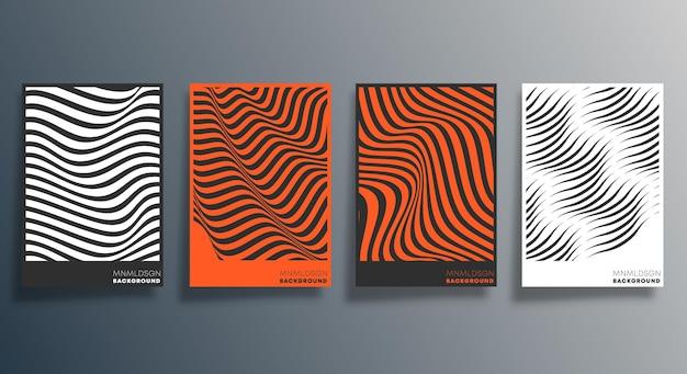 Design de linha geométrica mínima para panfleto, cartaz, capa de brochura, plano de fundo, papel de parede, tipografia ou outros produtos de impressão. ilustração vetorial